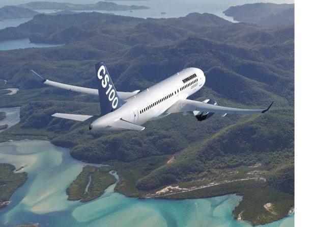 Image du CS100 en vol