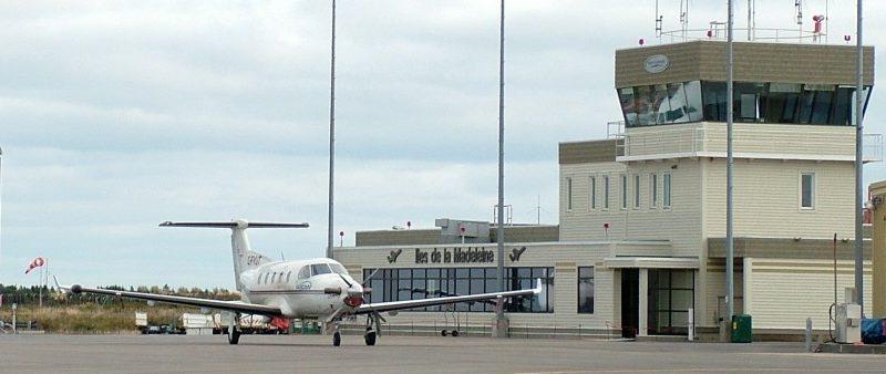 Aéroport de grande entrée aux Iles de la Madeleine
