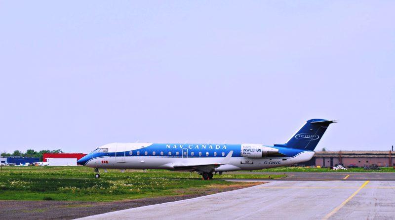 CRJ200 de Nav Canada