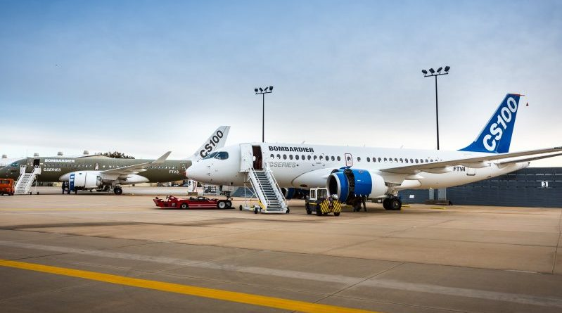 2 CSeries de Bombardier à Wichita