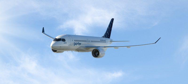 CS100 Porter Airlines