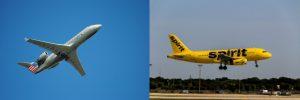 American et Spirit Airlines