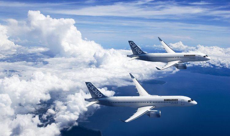 Bombardier CS100 et CS300