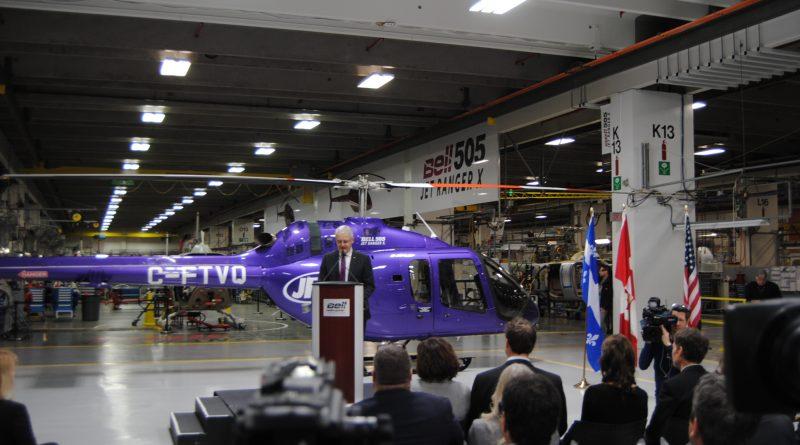 Le ministre des Transports du Canada Marc Garneau