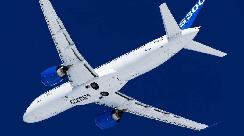 CS300 FTV8 de Bombardier Aviation