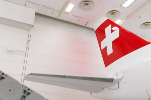 Le premier CS300 de SWISS