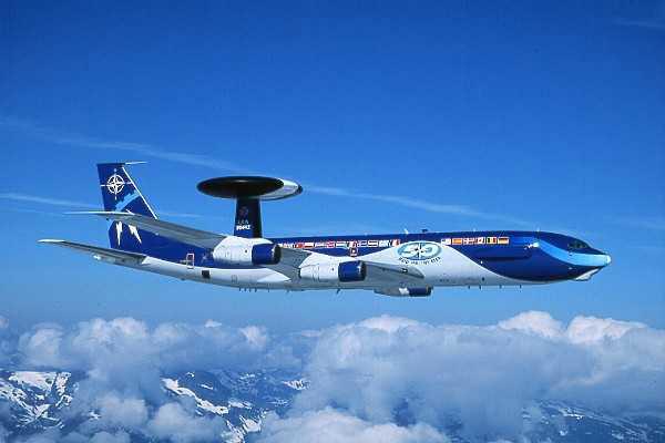 AWACS E-3A de l'OTAN