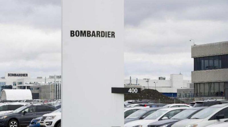 Entrée de l'usine de Bombardier au 400 côte vertus