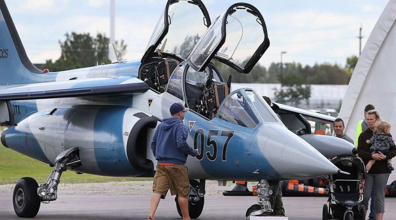 Alpha Jet de Discovery Air Defence