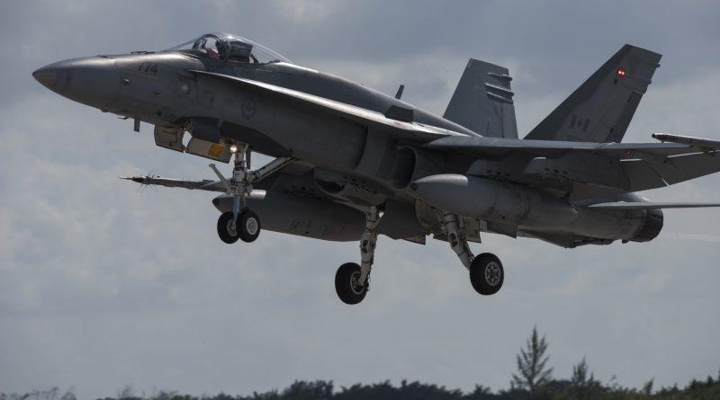 CF-18 A des forces canadiennes
