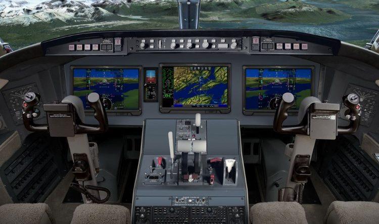 avionique intégrée Pro Line FusionMD pour l'avion Challenger 604