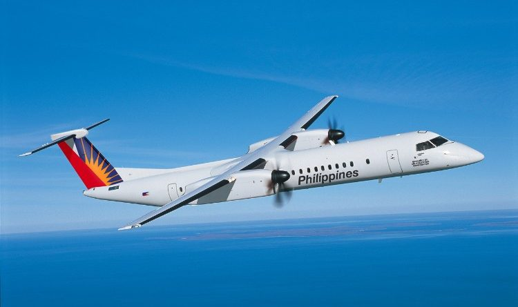 Q400 au couleurs de Philippines Airlines