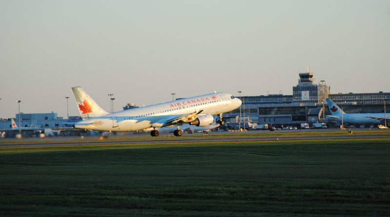 A320 D'air Canada décollant à Montréal-Trudeau