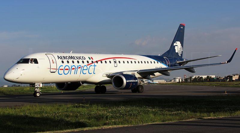 E-190 d'Aeromexico Connec