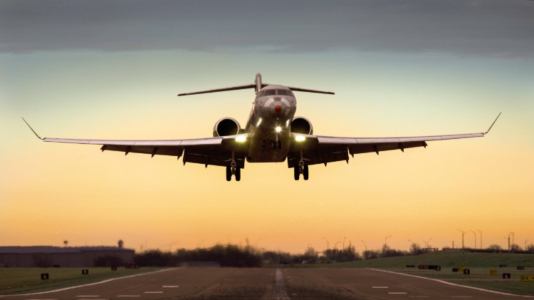 Bombardier Aviation Global7500 FTV1