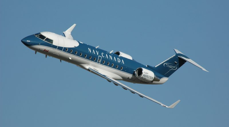 Avion d'inspection de NavCanada