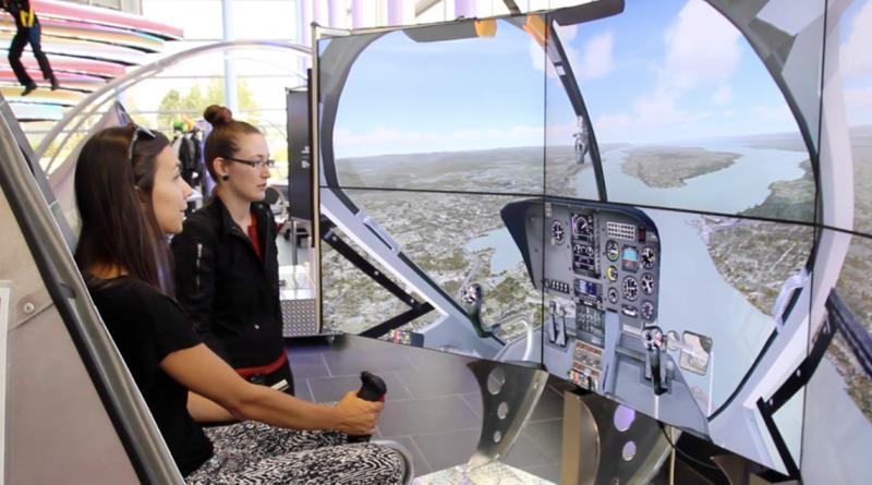 Simulateur, Complexe Capitale Hélicoptère