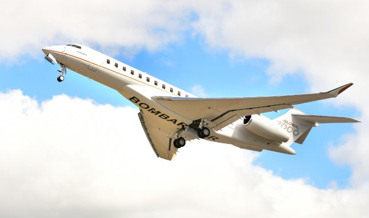 Le Global 7500 effectue un vol de 8225nm