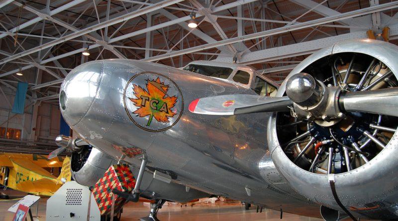 Lockheed L10 Electra CF-TCC