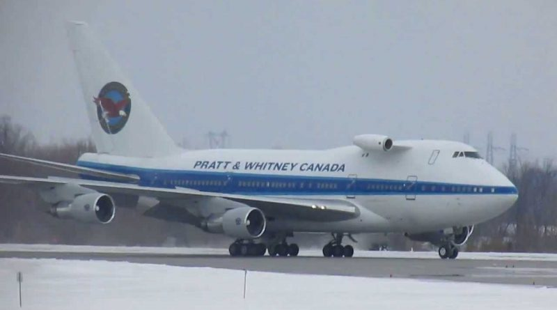 B747SP de Pratt & Whitney Canada