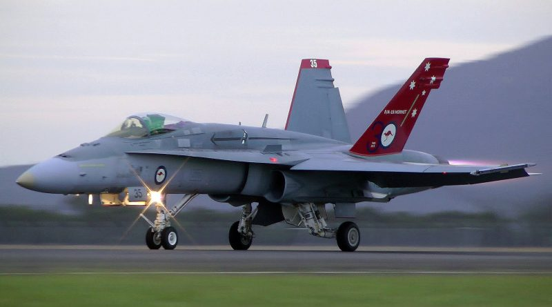 RAAF F:A18 Hornet