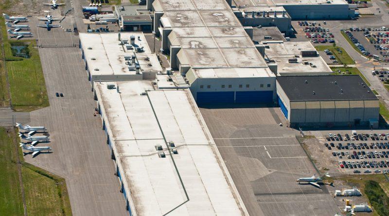 Bombardier plant 3 à Dorval