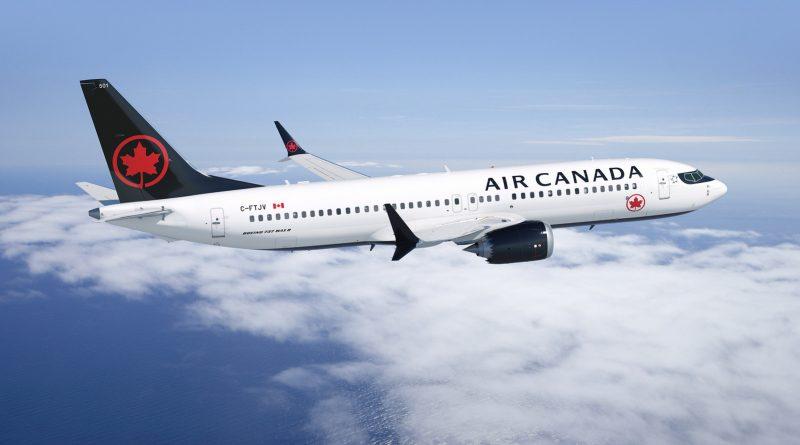 737 MAX de Boeing d'Air Canada