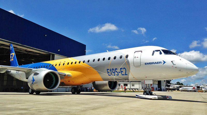 E195-E2 d'Embraer