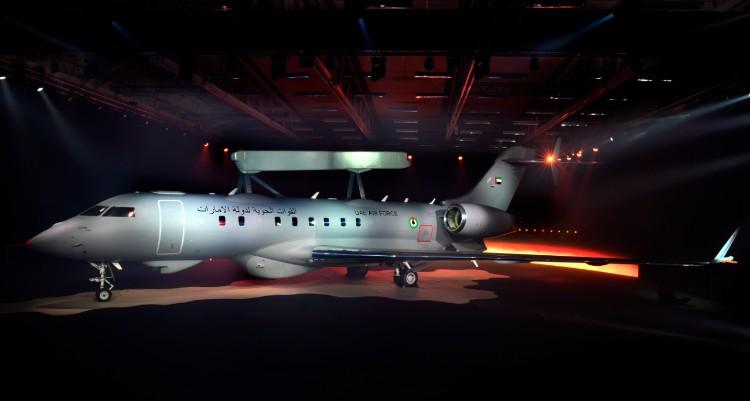 Avion de surveillance GlobalEye