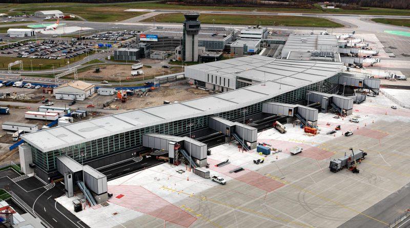 Aéroport de Québec novembre 2017