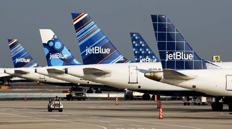 Plusieurs A320 de JetBlue