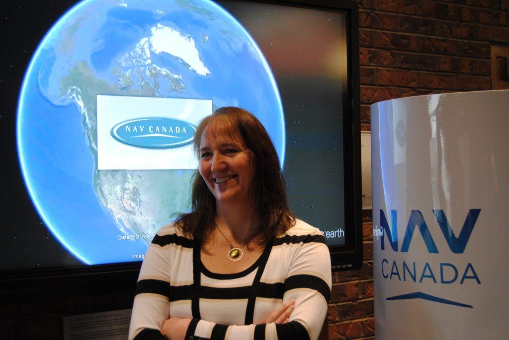 Lyne Moreau, gestionnaire responsable de l'exploitation de la FIR de Montréal