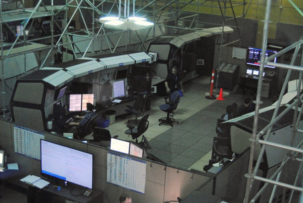 Salle de contrôle ACC de Montréal