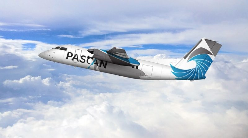 Dash 8-100 aux couleurs de Pascan