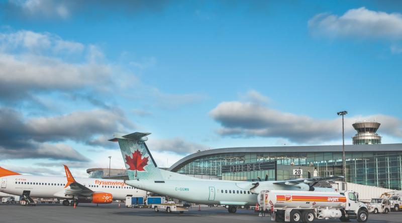 Tablier aéroport de Québec