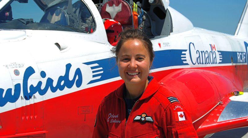 Capitaine Sarah Dallaire Snowbird 2