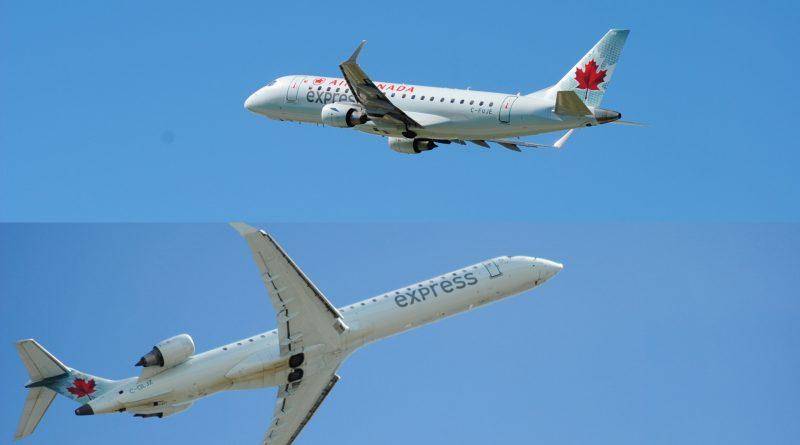 E175 contre CRJ-900