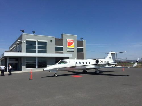 Vinci Aviation base un premier jet d'affaires à l'Aéroport international Jean-Lesage de Québec