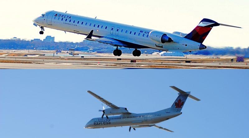 CRJ 900 et Q400 de Bombardier