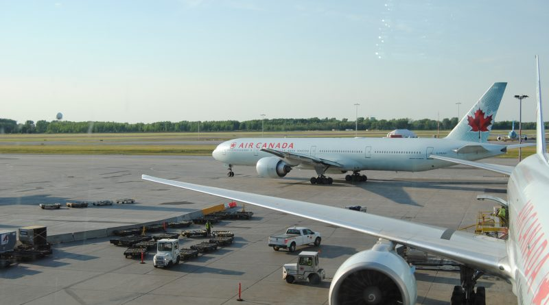 Air Canada CYUL juillet 2018