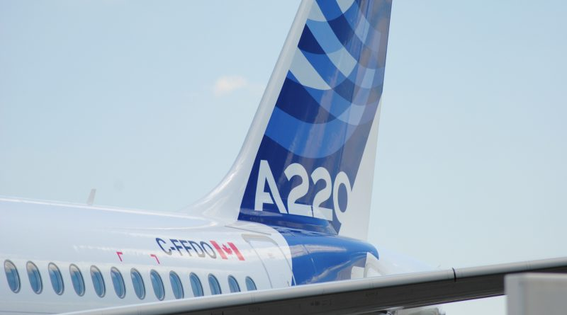 Empennage A220