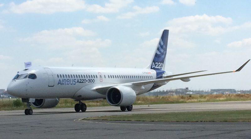 A220-300 à Toulouse