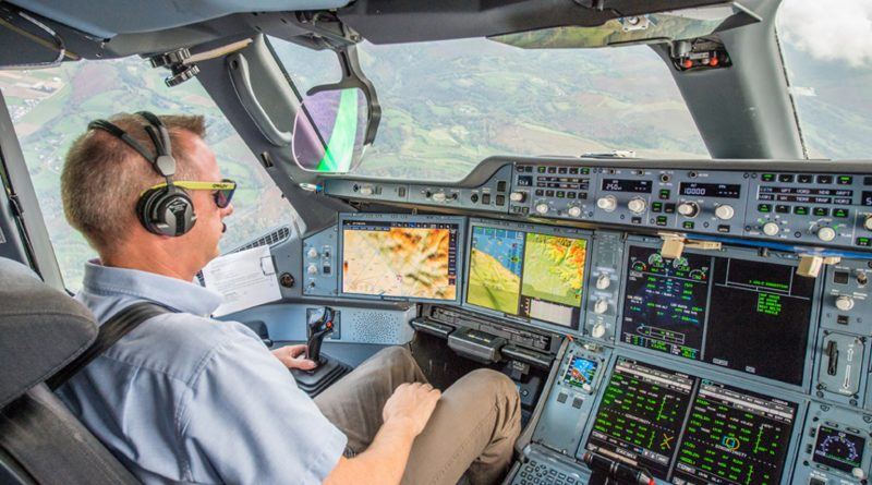 Airbus synthetic vision system