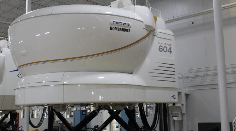 CAE simlateur Challenger 604