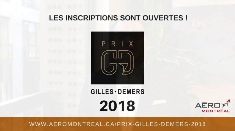 Logo Prix Gilles Demers