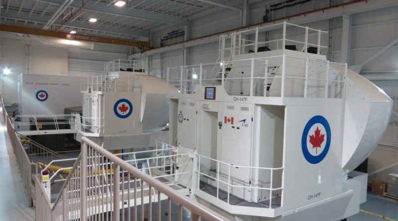 Petawawa sim bay CH-147F_simulators