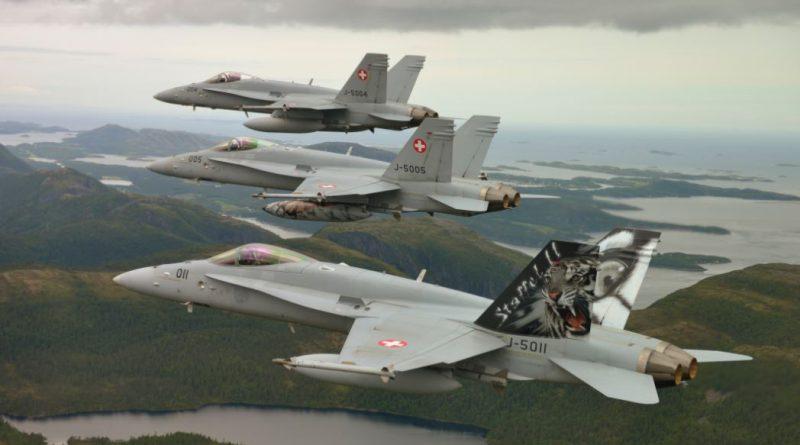 F-18 Suisse