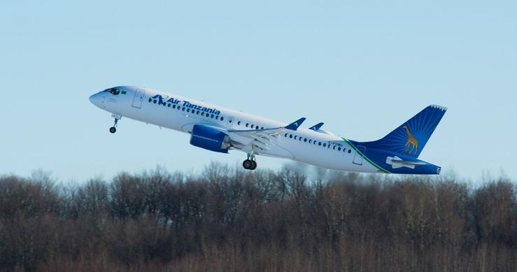 Premier A220 d'Air-Tanzania-