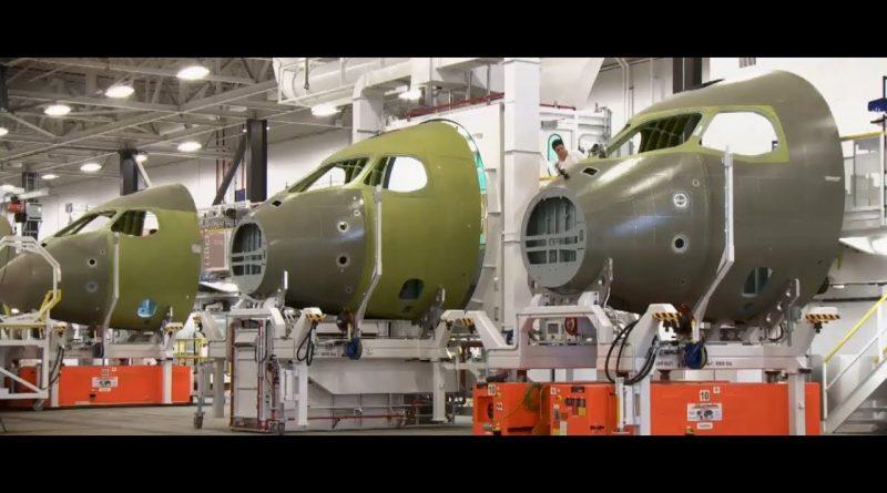 Bombardier Aérostrutures ville Saint-Laurent