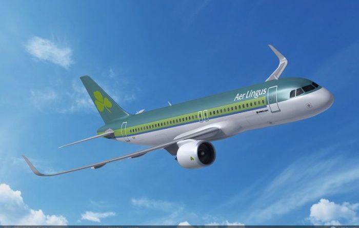 Aer Lingus nouvelle livrée